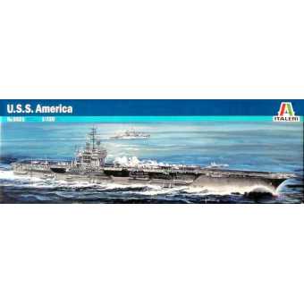 Авианосец U.S.S. AMERICA CV-66 1:720
