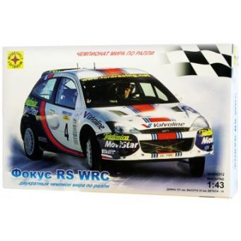 Автомобиль Форд Фокус WRC 1:43