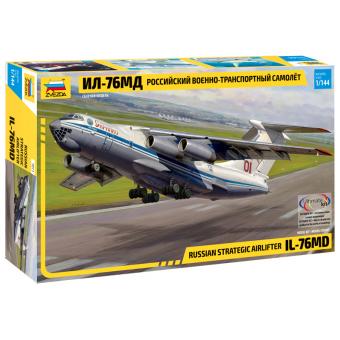 ИЛ-76МД Россиийский военно-транспортный самолет 1:144