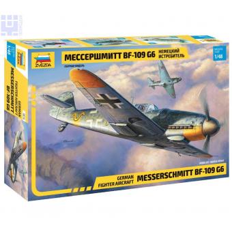 Истребитель Мессершмитт BF 109 G6 1:48