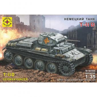 Немецкий танк Т II D 1:35