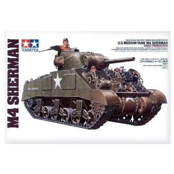 Танк М4 SHERMAN (Early Production) 1:35