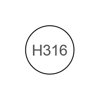 Краска 10мл WHITE FS17875