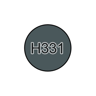 Краска 10мл DARK SEAGRAY BS381C/638