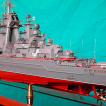 крейсер Петр Великий 1:700