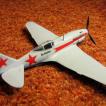истребитель МИГ-3 1:72